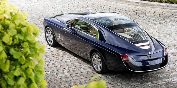 Dünyanın en pahalı otomobili Rolls-Royce Sweptail